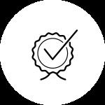 Icon: Qualitätssicherung